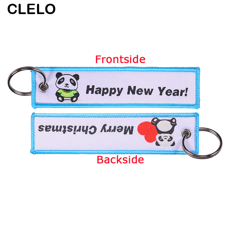 Travel Accessories Customize Embroidery Luggage Tag label Fashion Travel bag tag for Flight Crew Aviation Gift