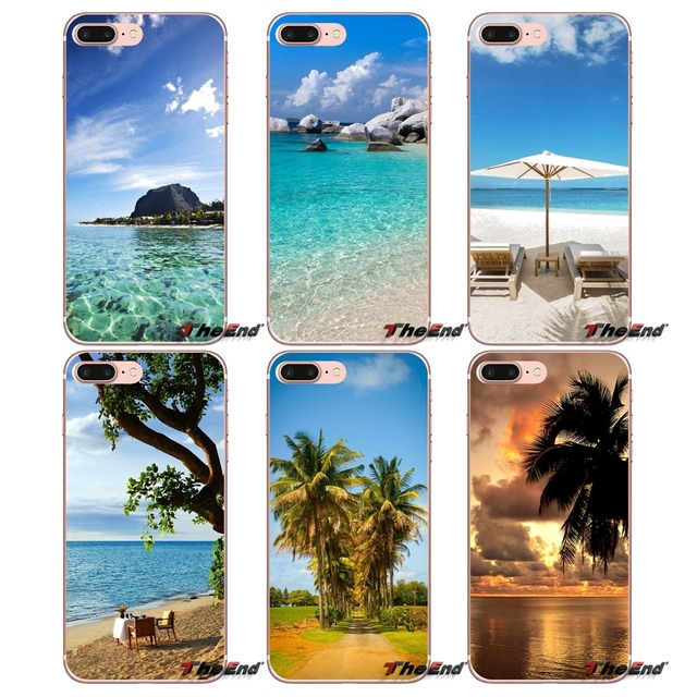 For Sony Xperia Z Z1 Z2 Z3 Z5 compact M2 M4 M5 E3 T3 XA Aqua LG G4 G5 G3 G2 Mini Capa The Blue Mauritius Mobile Phone Skin Cover