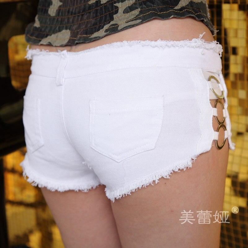 Sexy white booty shorts