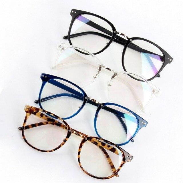 Para Mujer para hombre marea óptica claro lente Gafas mujeres ...