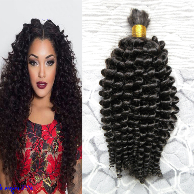 Mongolian Kinky Curly Afro Crochet Braids Loose Curly Hair