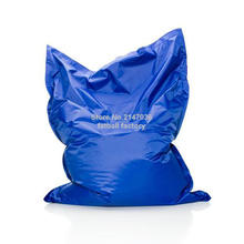 Cobalt blue Color outdoor bean bag chair — home furniture — beanbag sofa beds