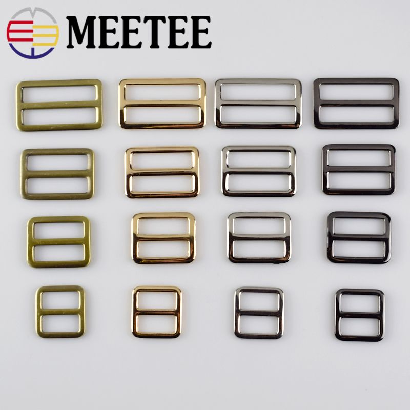 Home & Garden 5pc 2/2.5/3.2/3.7cm Webbing Straps Metal Slider Tri Glide Adjust Buckles Bag Shoes Clothes Leather Belt Ring Part Accessory F4-4 Orders Are Welcome.