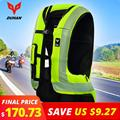Духан мотоциклетная воздушная сумка Moto мотоциклетный жилет Advanced Air bag system Защитное снаряжение Светоотражающая мотоциклетная подушка безоп...