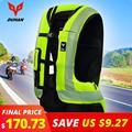 DUHAN Motocicleta Air-bag Moto Motocicleta Colete Avançado Sistema de Air Bag Airbag Moto Equipamentos de Proteção Moto Reflexivo Colete #