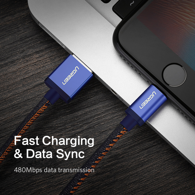 MFi Lightning USB Cable for iPhone