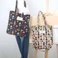 YILE Autumn Winter Triangle Corduroy Shoulder Bag Eco Shopping Tote ZT9-05