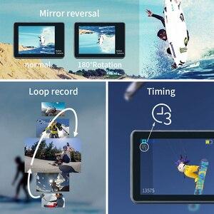 "Image 4 - 2.0 ""ללכת Pro Ultra HD 4K פעולה ספורט וידאו מצלמה DVR מקליט Wifi שלט רחוק עמיד למים Selfie מקל gopro אבזרים"