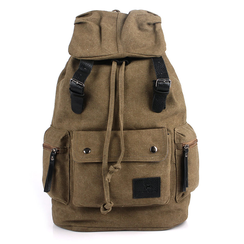 ФОТО 2017 men's canvas  backpack big capacity travel bag man bag vintage bag outdoor canvas bag