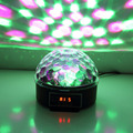 Worldwide 1 pcs Durable 3 Colors LED Crystal Magic Ball Effect Light Disco DJ Stage Party