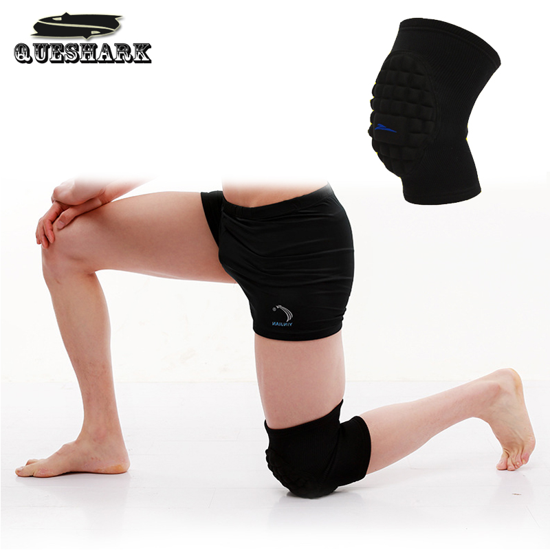1Pcs Anti-Collision Skiing Dancing Kneeling Kneepad Basketball Knee Pads Volleyball Soccer Sports Knee Protector Brace Support