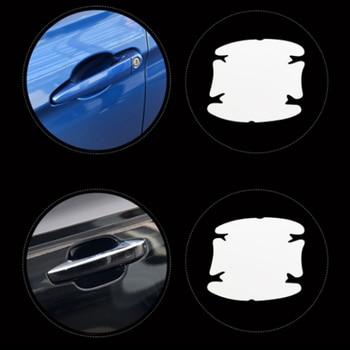 Купи Автомобильная дверная чаша защитная пленка наклейка для Nissan Teana X-Trail Qashqai Livina Sylphy Tiida Sunny March Murano Geniss Juke на алиэкспресс со скидкой