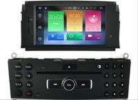 Android Car DVD GPS For Benz C Class C200 C180 W204 2007 2008 2009 2010 2011 Auto Stereo Radio FM Audio Video Free Rear Camera