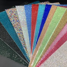 Crystal Diamond Rhinestone Car/Mobile/PC Decor Decal Styling Accessories Art Self Adhesive Scrapbooking Sticker Decor Decoration crystals rhinestones car decor decal styling accessories mobile art diamond self adhesive sticker flat acrylic drilling stickers