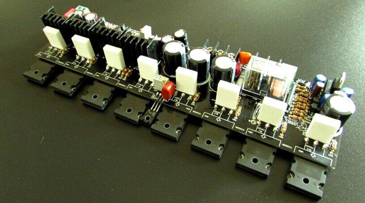 diy kit black version mono amplifier ksa100 mk2 Class A ...