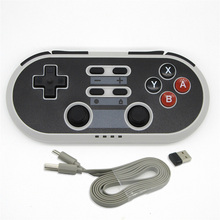 Wireless Bluetooth Game Controller Type-C Switch for NS PS3 Set-top Box TV Android Computer Have Shaft Double Vibrating Handle
