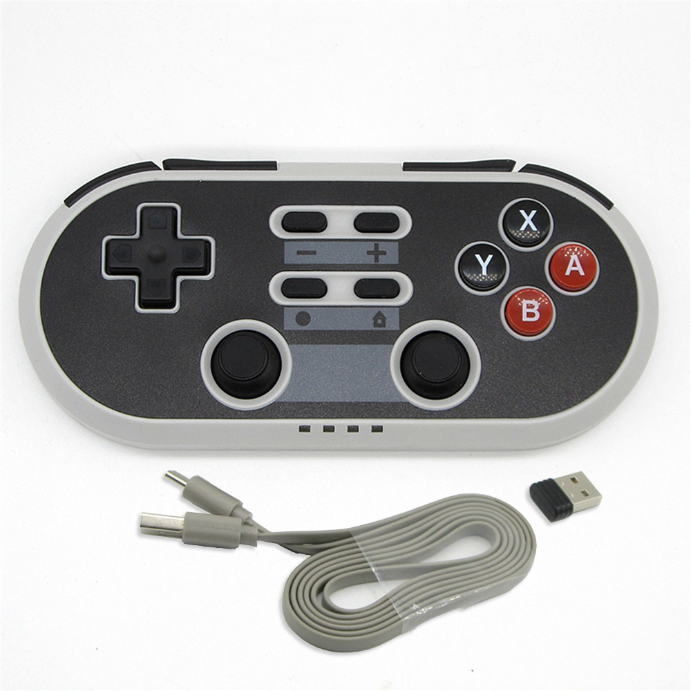 Wireless Bluetooth Game Controller Type C Switch for NS PS3 Set top Box TV Android Computer Have Shaft Double Vibrating Handle