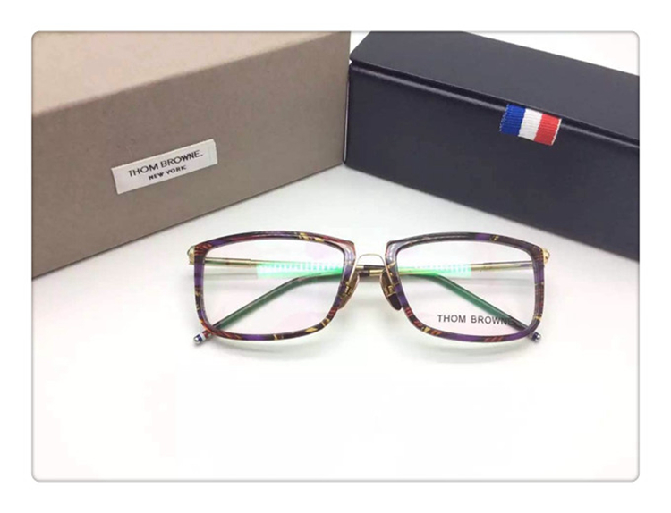 4736fb84e6ed Thom browne fashion eye glasses men myopia reading eyeglasses frames  TB419-in Eyewear Frames from Apparel Accessories on Aliexpress.com