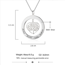 Family Tree Of Life Gift With Name Engraving