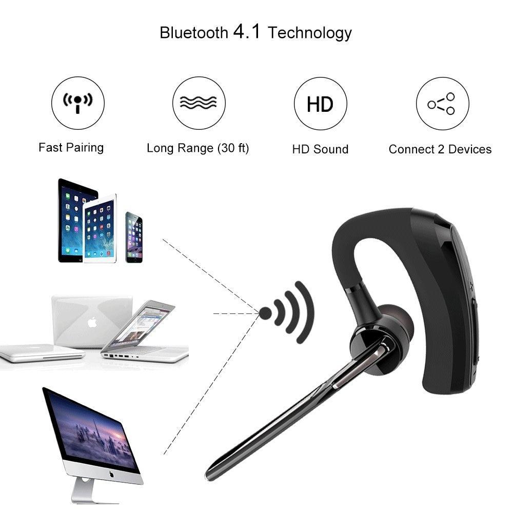 2018 uusim V8 Bluetooth kõrvaklapp traadita kõrvaklapid Stereo - Kaasaskantav audio ja video - Foto 4