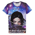 Hot Love Never Felt So Good 3D Print T-shirt Cotton Unisex Michael Jackson & Justin Summer Tee Shirts Teen Loose Homme Tops