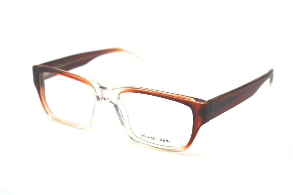 ⑥GENUINE HAND MADE Frame Wide Legs Brown Gradient Glasses Frame ...