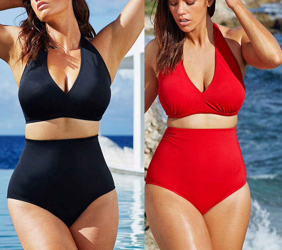 Shop for sexy bathing suits and high waisted bathing suits for Women cheap prices online at megasmm.gq One piece bathing suits are not just for plus size swimwear collection anymore Pink Basis makes them sexy.