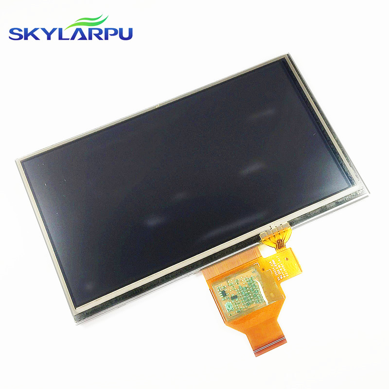 skylarpu 6.1 inch A061VTT01.0 LCD screen for GARMIN Nuvi 66 66LM 66LMT GPS LCD display Screen with Touch screen digitizer original new 4 3inch for garmin nuvi 1340 1340t gps lcd display screen lq043t1dh41 lcd screen touch panel free shipping