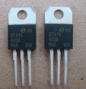 10pcs/lot BTA16-600B TO-220 BTA16-600 TO220 BTA16 600V 16A TRIACS New And Original In Stock