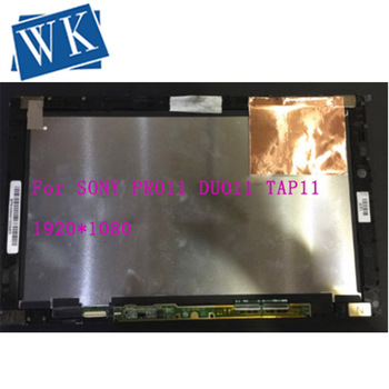 "Free shipping 11.6"" Touch Screen Digitizer With LCD Display Assembly For SONY Vaio PRO11 DUO11 TAP11 FLIP11 SVT112 VVX11F019G00"
