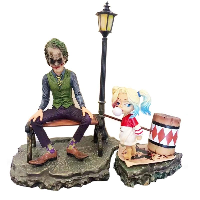 Movie DC Suicide Squad Character Joker Baby Harleen Quinzel Street Scene PVC Figure Model Toys for