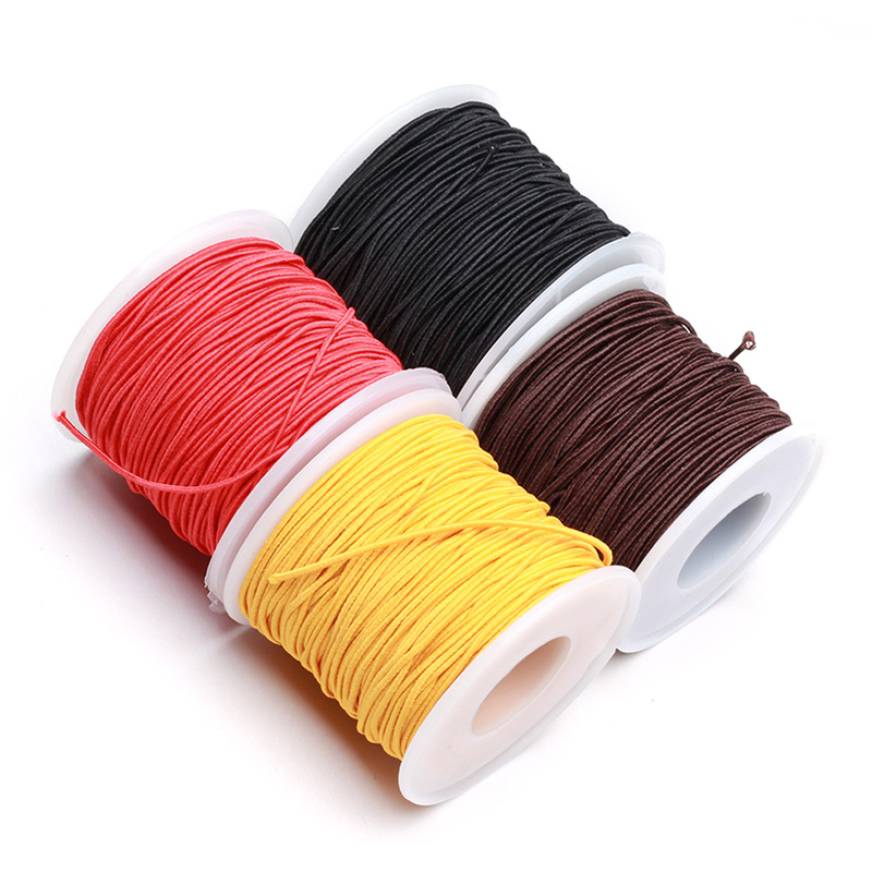 10m/bag 1.5mm Round Nylon Elastic Cord Beading Stretch Thread/String/Rope for Bead Chain/Necklace/Bracelet Jewelry Diy Handmade