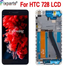 For HTC Desire 728 728G LCD Touch Screen Digitizer Assembly With Frame 5.5