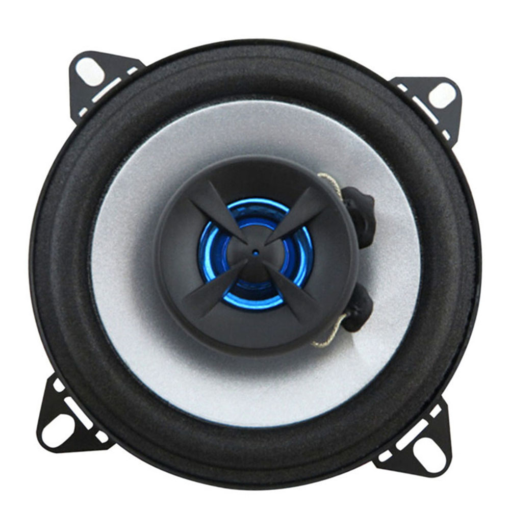 A pair Good quality 2 way 2x60W 4 inch car coaxial speaker car audio speaker for all cars best selling