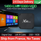 X96mini IPTV France Arabic TV Box Android 7.1 S905W 2G 16G with QHDTV 1 Year Code French Belgium Netherlands X96 mini IPTV Box