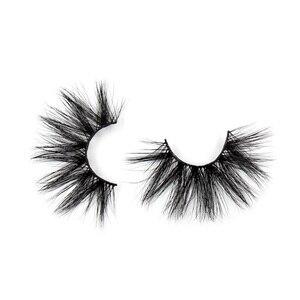 Image 5 - 100 Paris/lot 25mm Eyelashes 3D Mink False Eyelashes Crisscross Mink Lashes Soft Dramatic Eyelash Fluffy Full Makeup Eye lash