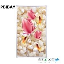MYP5-18, 5 Pçs/lote, 60*100 cm, Frete grátis, cristal de montagem na parede, parede quente com imagem, Infravermelho aquecedor, aquecedor de cristal de carbono