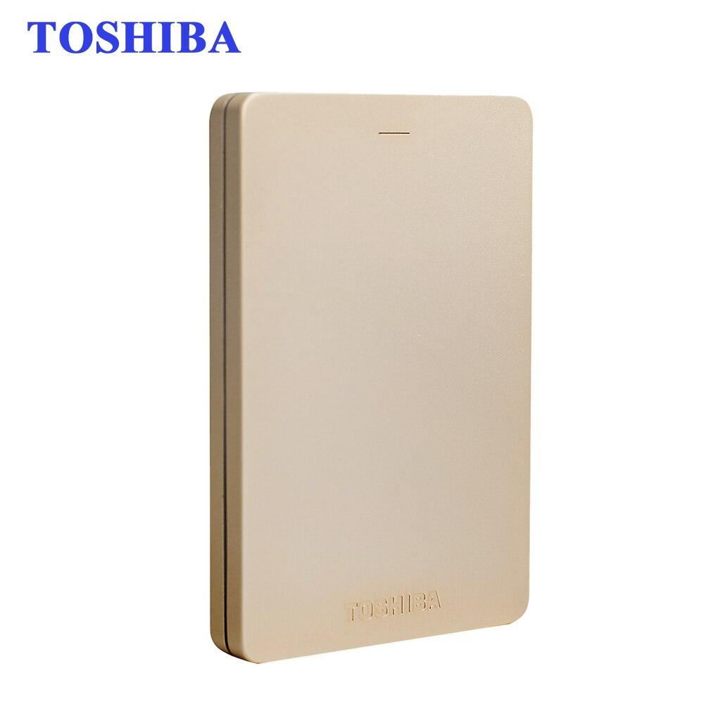 """Toshiba Canvio alumy HD экстерно 2.5 """"1 ТБ внешний Портативный жесткий диск USB 3.0 HDD устройства хранения жесткий диск дур ноутбука пайки"""