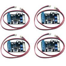 4pcs TA7318P Pre-Amp PCB Driver Board VU Header Meter db Level