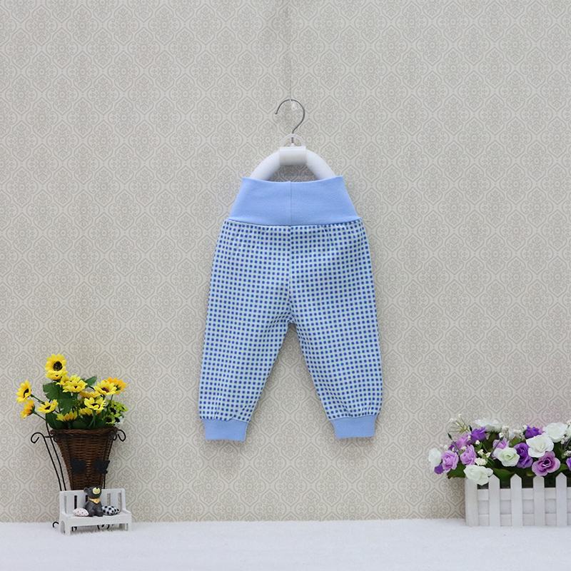 100% Cotton Long Pants For 0 To 18 Months Baby Spring And Autumn Underwear Children Clothes High Waist Striped Colorful Trousers
