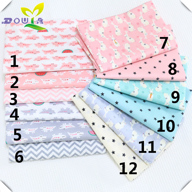 Printed pure cotton twill cloth nursery for kindergartens and children with cotton bed sheets