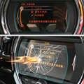 ملصق حماية زجاج مقسى للسيارة ملصق ملاحة الشاشة لميني كوبر F54 F55 F56 F57 F60 اكسسوارات كونتري مان