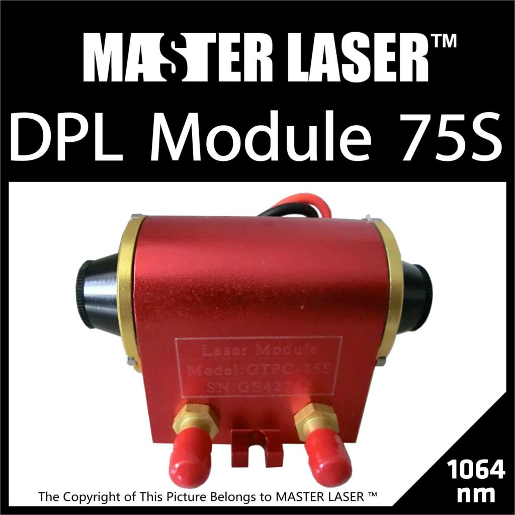 Discount Free Shipping Good Quality HIGH POWER GTPC-75S 75W Diode Pumped Laser Module Laser Head DPL DPSS Module discount good quality high power gtpc 75s 75w diode pumped laser module power supply gtdc2425