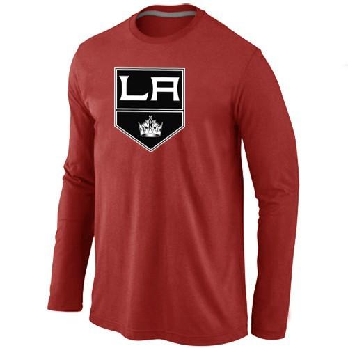 NHL Los Angeles Kings Big & Tall Logo red Long Sleeve T-Shirt