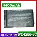 4400 mah batería del ordenador portátil para hp nc4200 nc4400 tc4200 tc4400 4200 381373-001 383510-001 419111-001 hstnn-ib12 hstnn-ub12 pb991a