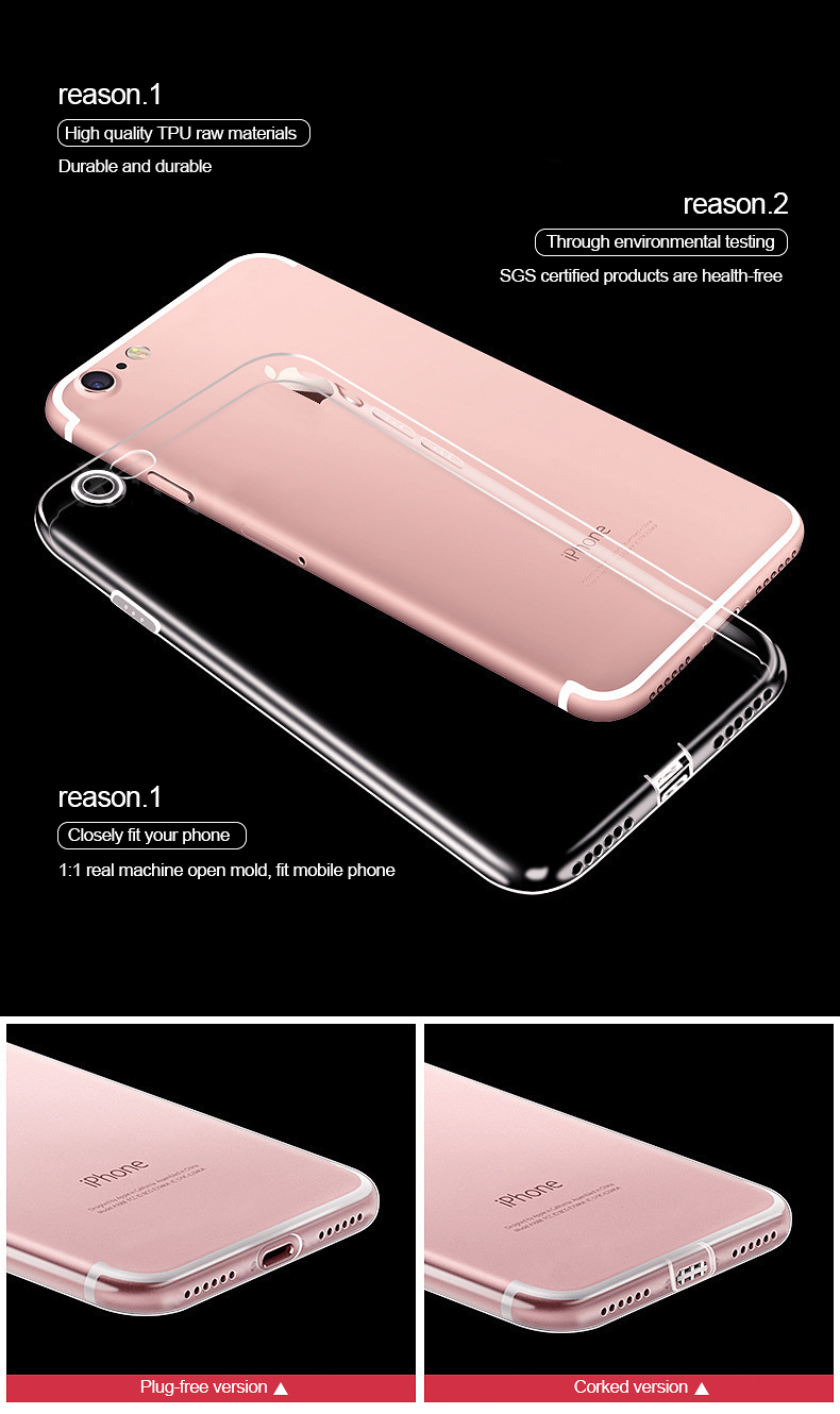Clear iPhone 7, 7 Plus Case 8