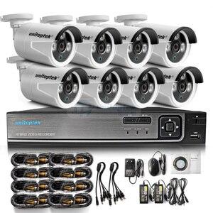 Image 5 - 4CH 1080P AHD dvr system monitoringu wizyjnego z 4 sztuk 2000TVL 2MP bezpieczeństwa AHD kamery zewnątrz domu kamera do monitoringu cctv zestaw