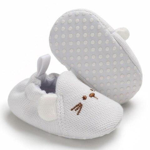 New Baby Shoes First Walkers Infant Baby Girls Boys Pram Crib Shoes Soft Sole Newborn Baby Sneakers Prewalker Multan