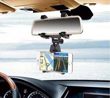 Regolabile gps del telefono mobile car auto rearview mirror mount supporti supporti e basi per xiaomi mi note 3, cubot note s/x16s/x17s/s550/echo