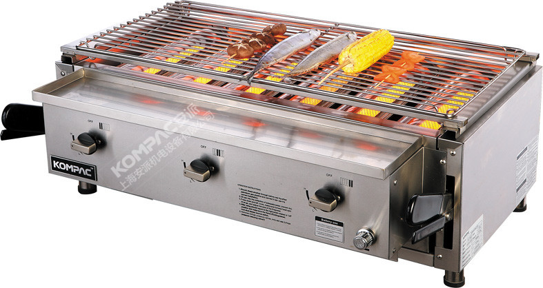 Gas Oven And Grill Part - 36: Wholesale Stainless Steel Grill Oven / Environmentally Friendly Six Gas  Stove Oven